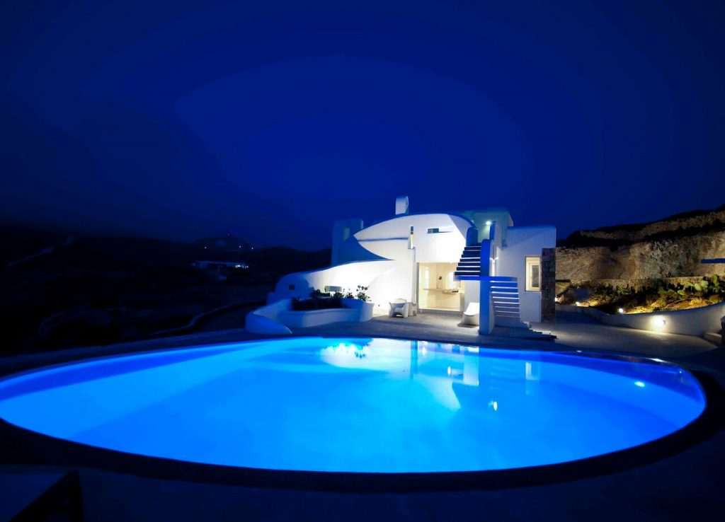 Brand new villa on Myconos
