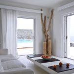 Unique villa on Mykonos island