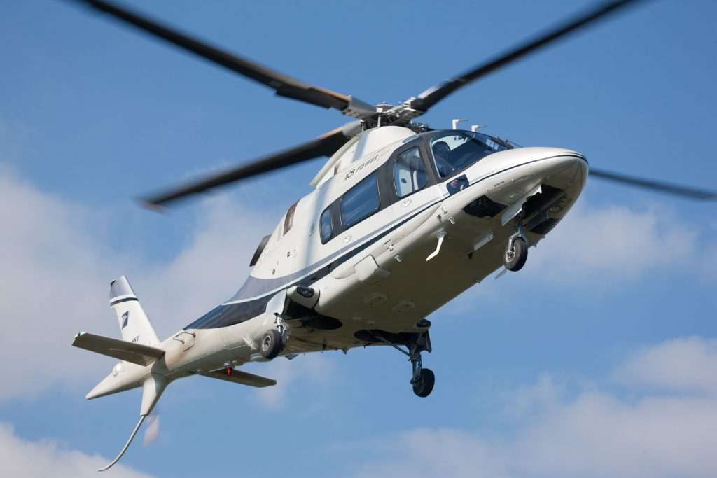 helicopter transfer, helicopter transfer, Agusta A109 Power Elite