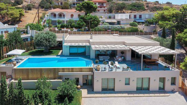 Lagonissi Villa
