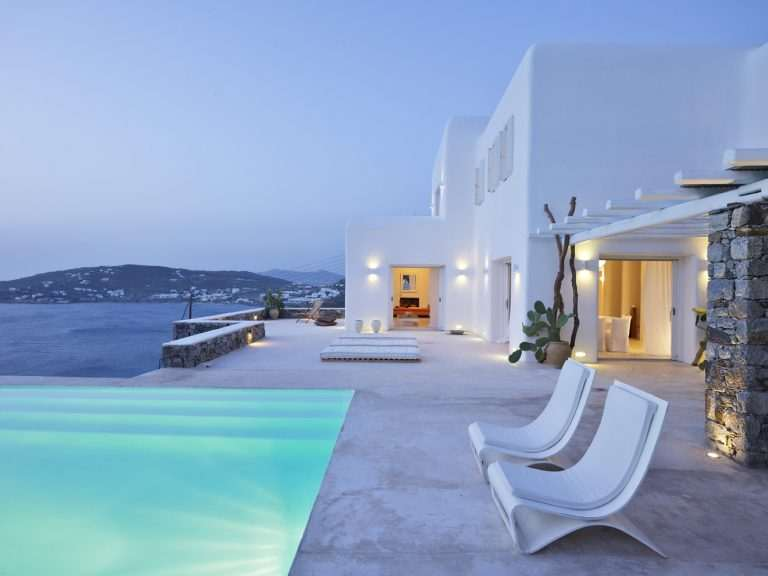 Unique villa on Mykonos island