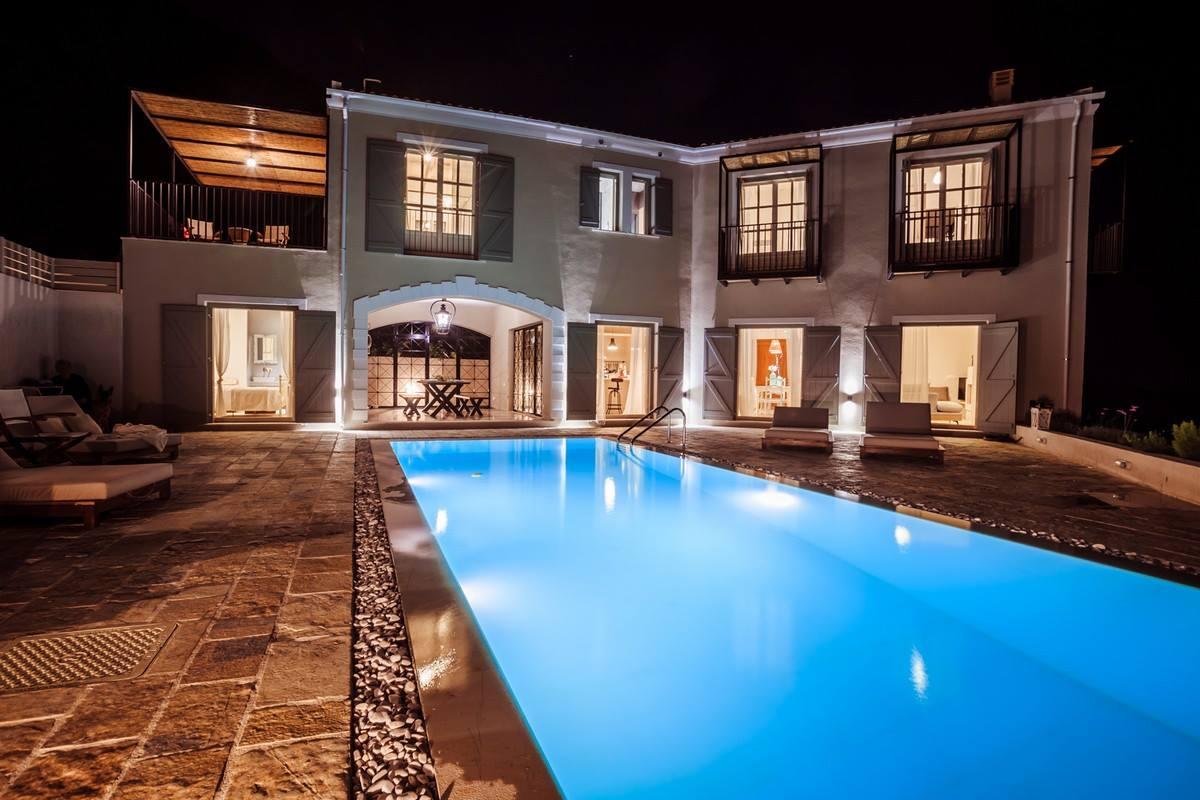 Corfu Greece Villa, privacy villa, exlusive villa, private villa, privileged location villa