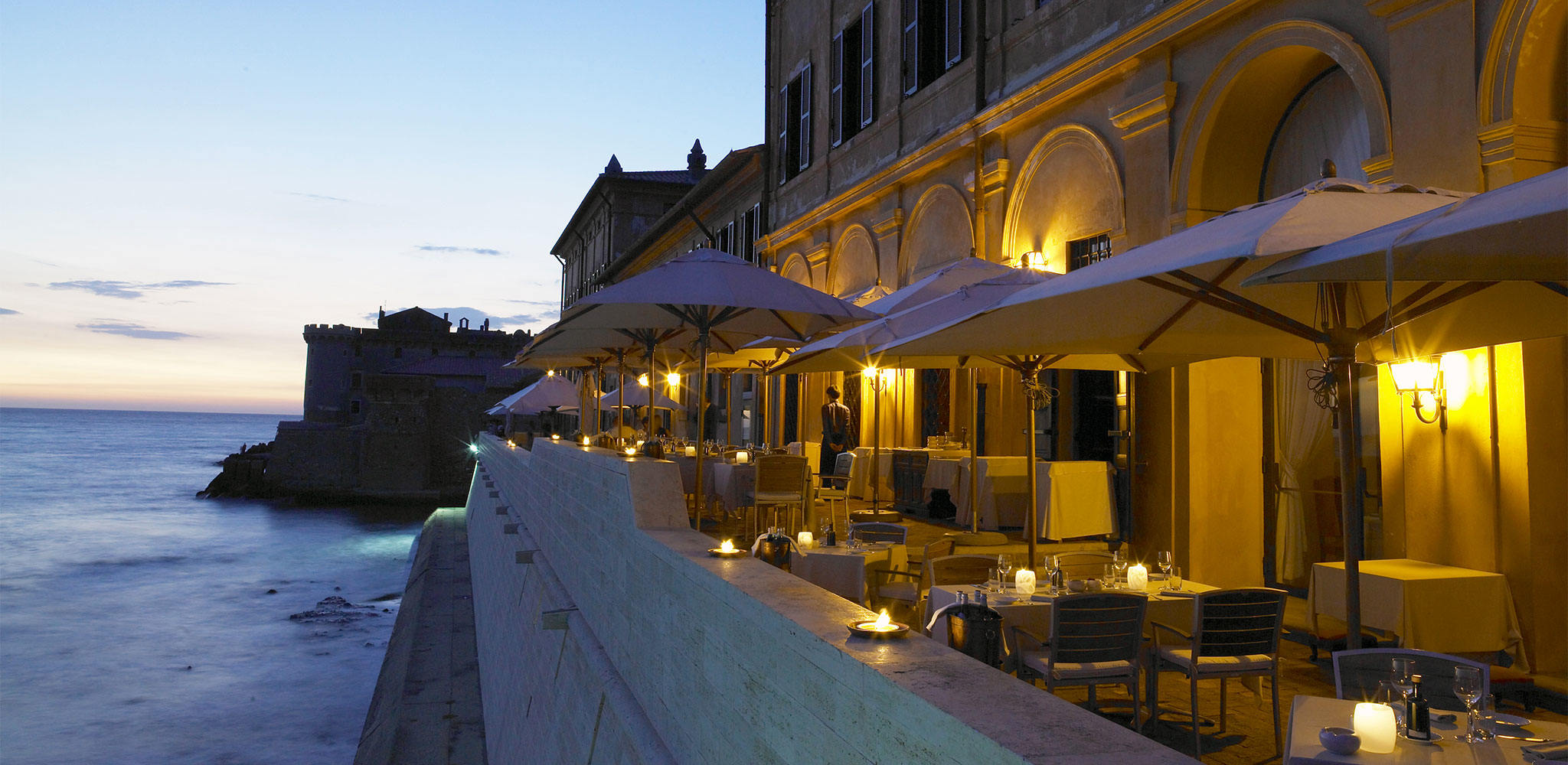 gourmet-cuisine-la-posta-vecchia-restaurant-rome-The-Cesar-Restaurant,-Terrace-Sea-View-1